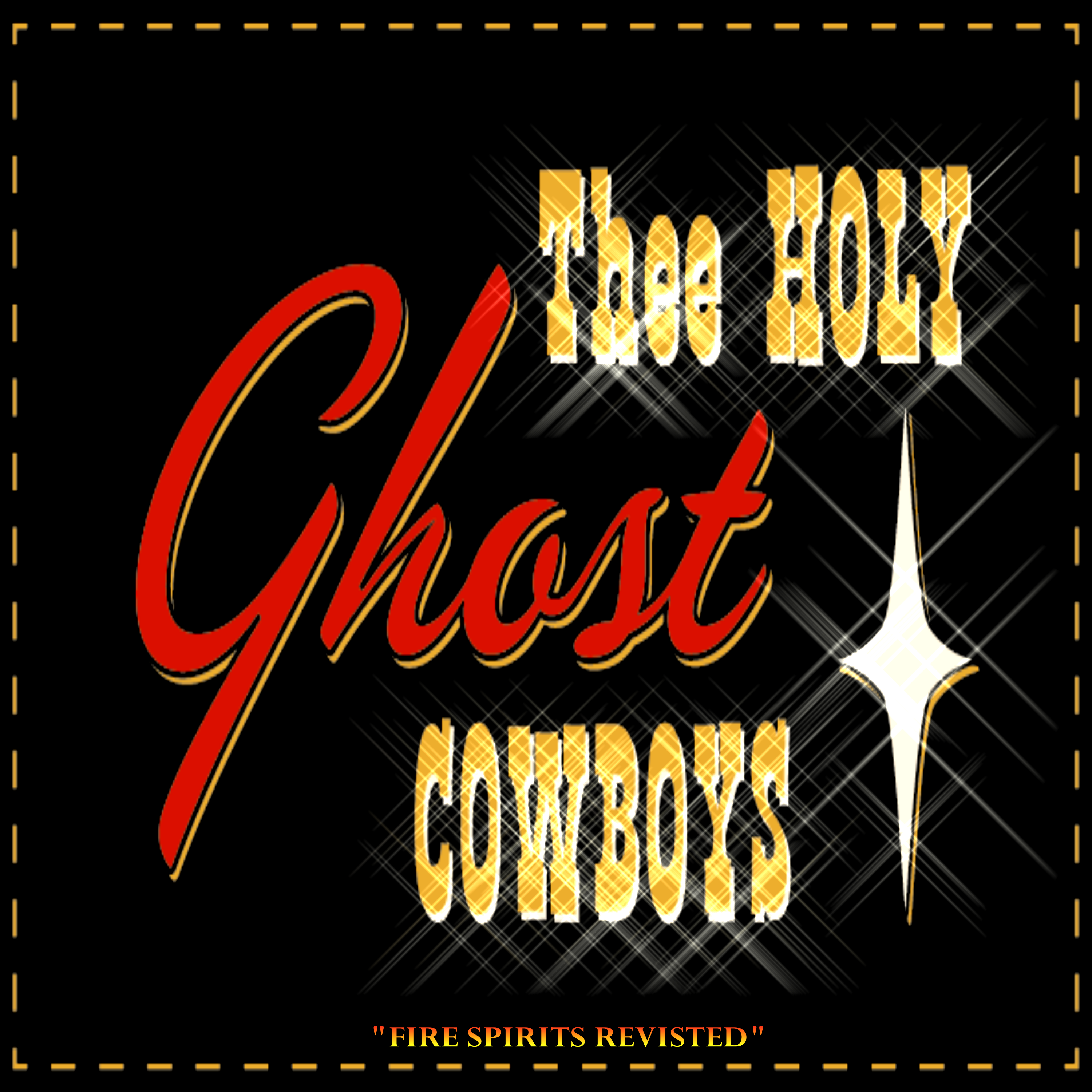 The Holy Ghost Cowboys Cover Front